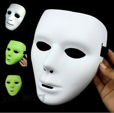 Funny Fluorescent Color JabbaWockeeZ Mysterious Mask With White Gloves 3 Colors