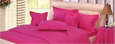 Hot Pink 800TC !Bed Room 1-PC Fitted Sheet 100%Cotton Stripe Make Desired Choice