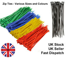 Plastic (Nylon) Cable Ties Zip ties Cable Wraps Cable Tidy Various Sizes