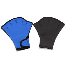 Webbed Fingerless Surfing Gloves For Frog Swim Aid Hand Paddle Water Swimming