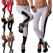 Women Skinny Colorful Print  Stretchy Sexy Jeggings Pencil Tights Pants
