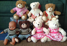Harrods Assorted Bears wearing Designer Harrods Clothes - BNWT lovely gift