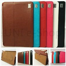 New Luxury Leather Floding Case Sleep/Wake up Stand Cover for Apple iPad Mini