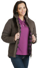 Puffa Women Brampton Jacket In Navy Chocolate Or Orchid Jacket