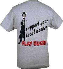 Support your Local Hooker Rugby T-Shirt