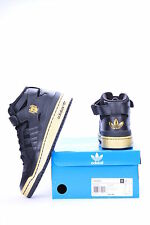 FORUM MID BLACK/METAL GOLD G67185 MEN ADIDAS