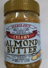 1, 2, 3 or 6 Trader Joe Almond Butter Creamy Salt/No Salt/ Crunchy Cashew 16 oz
