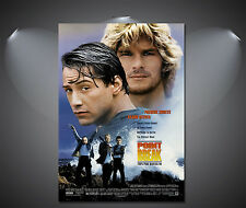 Point Break Keanu Reeves Vintage Movie Poster - A1, A2, A3, A4 available