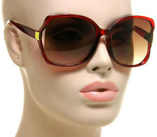 Square Oversized Sunglasses Women Designer Fashion Retro Vintage Style