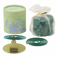 JASMINE50 COIL INCENSE GIFT CAN with BUNNY COIL HOLDER + Free Organza Bag