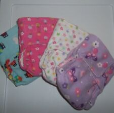 Newborn fitted cloth diaper- You pick the fabric! *up-cycled baby girl*
