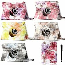 For Apple iPad Mini NEW 360 Rotating PU Leather Folio Case Cover w Swivel Stand