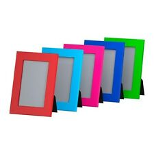 """IKEA Nyttja Color Picture Frames 4 X 6"""" or 5 X 7"""" Stand / Hang 7 COLORS in STOCK"""