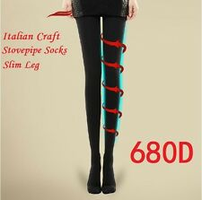 Women Lady Slim Leggings 680D Compression Shape Spats Stockings