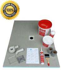 Wet Room Wetroom Shower Tray Kit  All sizes available Including Linear Kits