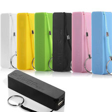 US 2600mAh LED Perfume Portable Power Bank External Charger for iPhone Samsung