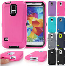 3in1 Armor Shockproof Rugged High Impact Hybrid Cases Shell For Samsung Galaxy