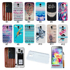 Cute PC Bendable Battery Back Cover Housing Case For Samsung Galaxy S5 V i9600