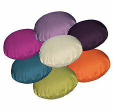 9+Colors Brown and Grey Tone Plain Round Velvet Style Cushion Cover/Pillow Case