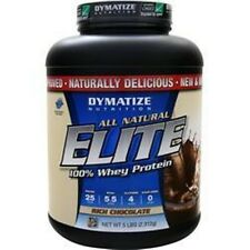 DYMATIZE DYMATIZE NUTRITION Elite 100% Whey Protein  5 lbs All Natural better
