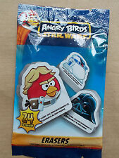 NEW ANGRY BIRDS STAR WARS STICKER BOOK OR PACK OF ERASER & 2 STICKERS OR DOG TAG