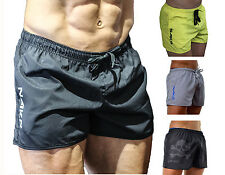 NAKD Flex shorts, BODYBUILDING, GYM SHORT, MENS TRAINING, RUNNING, WORKOUT Black