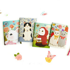 Lovelyl Kitty Mini Paper Lined Notebook Ruled Notepad Cute Writing Stationary