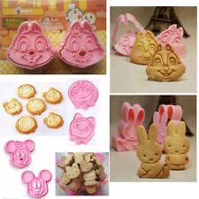 2xpcs Cute DIY craft biscuit cookie cake chocolate decoratin baking cutter mold