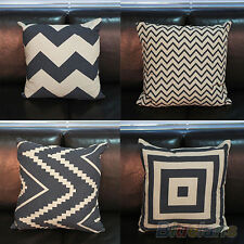 Ideal Home Decorative Pillow Covers Room Decors Wave Stripped Car Cushion Covers