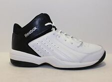 REEBOK First Quarter Attack Men's Basketball Shoes White/Black   NWD    Medium