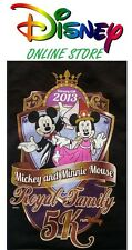 DISNEY MICKEY & MINNIE MOUSE 2013 5K RUN  AUTHENTIC SPONSOR SHIRT