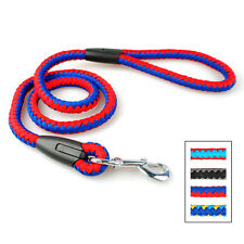 Durable Rope Braided Dog Leads Pet Training Walking Leash Strong for Large Dogs