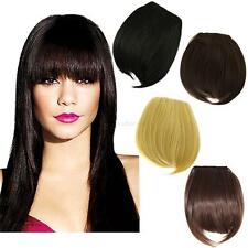 Greatest Clip On Clip In Front Hair Bang Fringe Hair Extension Human Made Finest
