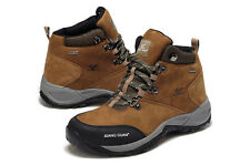 New Mens Waterproof Mountain Outdoor Hiking Trekking Shoes Leather Shorts Boots