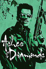 Ashes and Diamonds Movie Poster RARE Art House