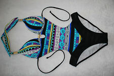 Women Sexy Bohemia One Piece MONOKINI SWIMSUIT SWIMWEAR US SIZE S M L XL