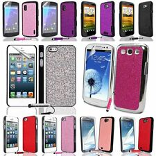 Stylish Color Disco Glitter Phone Case Cover For Various Mobile FREE SP+Stylus