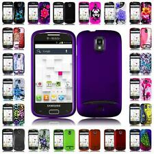 For Samsung Galaxy S Relay 4G T699 Hard Snap on Cover Case + LCD Screen Guard