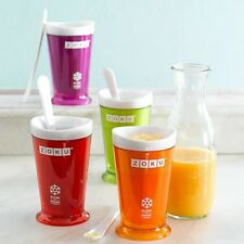 Original Zoku Slush & Shake Maker Slushy Milkshake Smoothie in 7min Easy & Fun