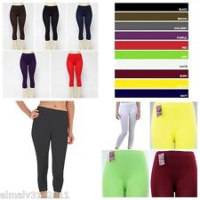 CAPRI LEGGINGS Light weight FOOTLESS ONE SIZE fits approx S,M, L model EX901
