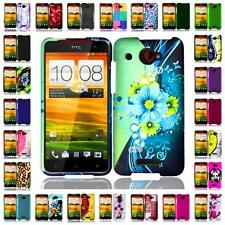 For HTC Droid DNA 6435 Hard Snap on Cover Case + LCD Screen Guard