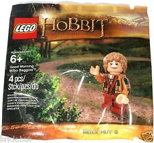 LEGO THE LORD OF THE RINGS - BILBO PATCHWORK COAT FIGURE - SEALED IN POLYBAG