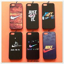 For Apple iPhone 5 5s 5c Nike Sport Swoosh Hard Case/Cover + Free Gift #LV01GG
