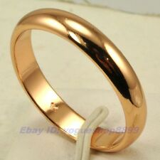 Size 9.5,10,10.5,11,11.5 Ring,REAL CLASSIC 18K ROSE GOLD GP SOLID FILL GEP 4844r