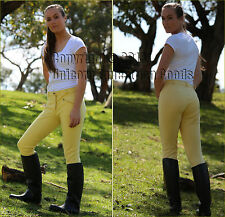 Unicorn Classic Plain Banana Ladies Jodhpurs Women Sizes 8 to 20