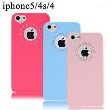 Cute Sweet Peach Heart Ultra Thin Case Cover Skin for Apple iphone 6 Plus 5 4 S