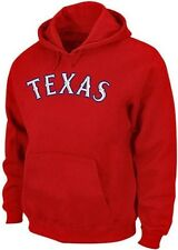 Texas Rangers Majestic 300 Hitter Club Pullover Hoodie Red Big & Tall Sizes