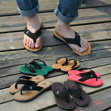 Casual Mens Flip Flops Sandals Slipper On Beach Home Ourdoor Shoes Beckham Love