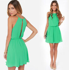 New Womens Summer Sexy Casual Party Evening Cocktail Short Mini Dress