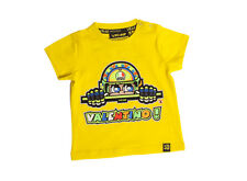 Valentino Rossi VR46 The Doctor GP Kids T-shirt Yellow Official New